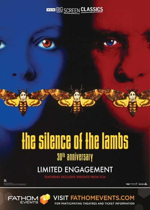 THE SILENCE OF THE LAMBS 30TH ANNIVERSARY poster