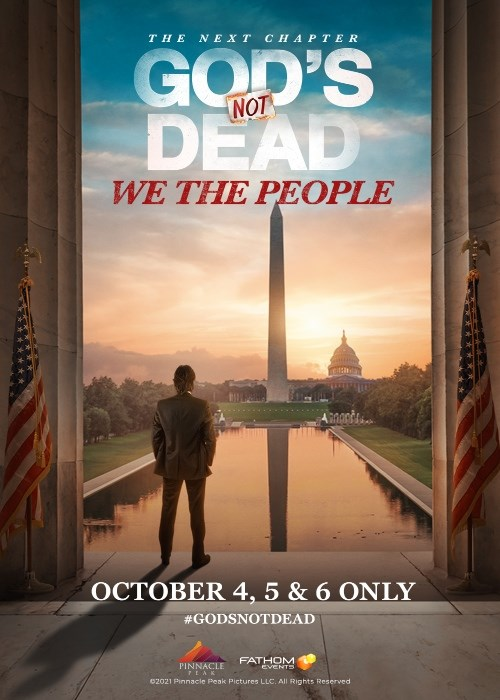 GOD'S NOT DEAD: WE THE PEOPLE poster