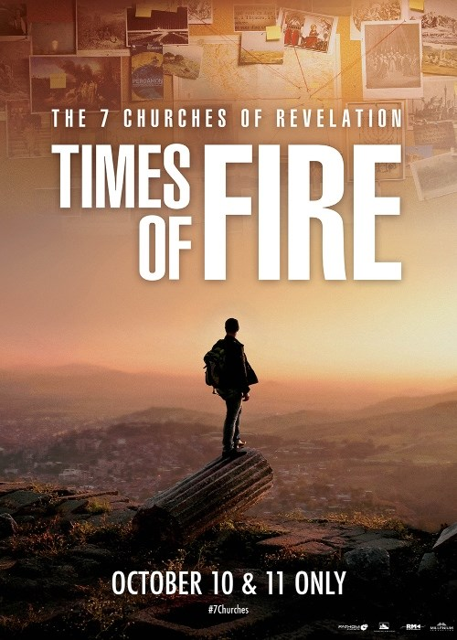 THE 7 CHURCHES OF REVELATION - TIMES OF FIRE poster
