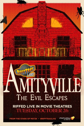 RIFFTRAX LIVE: AMITYVILLE 4: THE EVIL ESCAPES poster