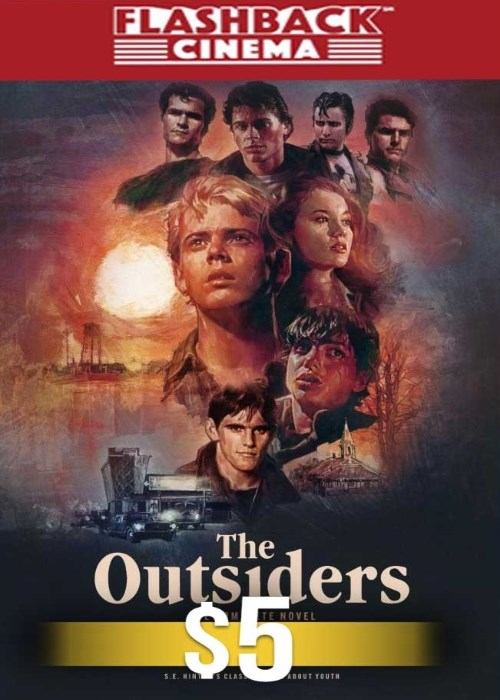 THE OUTSIDERS (THE COMPLETE NOVEL) poster