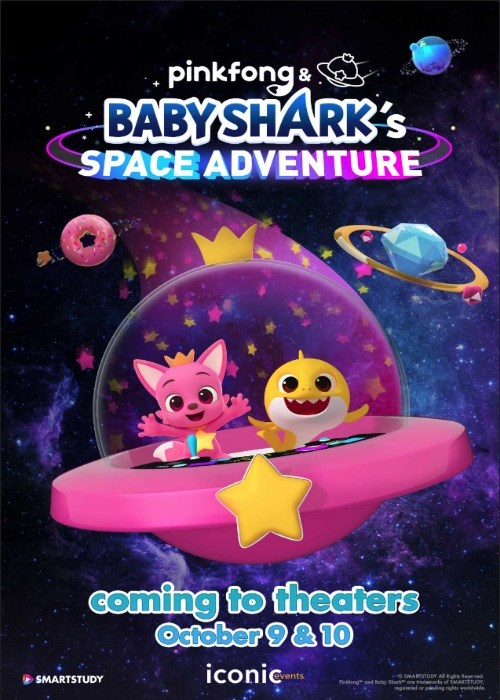 PINK FONG & BABY SHARK'S SPACE ADVENTURE poster