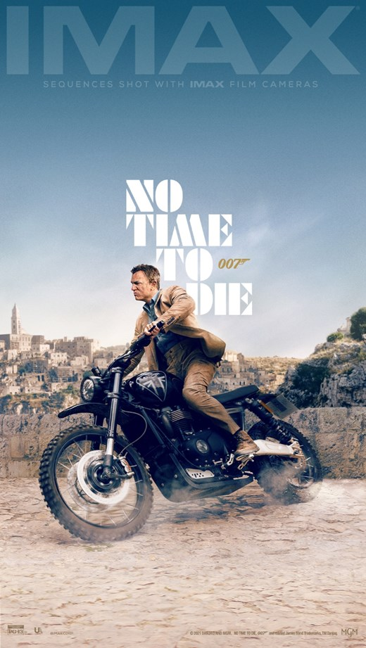NO TIME TO DIE: EARLY ACCESS SCREENINGS poster