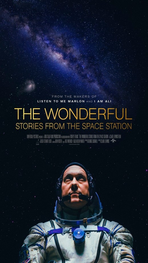 THE WONDERFUL: STORIES FROM THE SPACE STATION poster