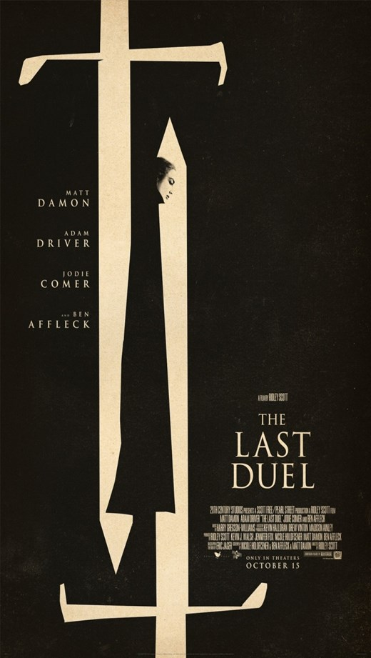 THE LAST DUEL poster