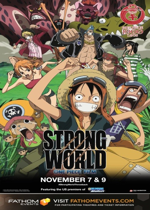 ONE PIECE FILM: STRONG WORLD (DUB) poster